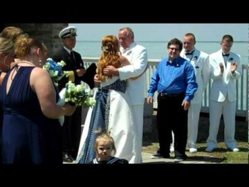 Wedding at the South Channel Lights May 2011